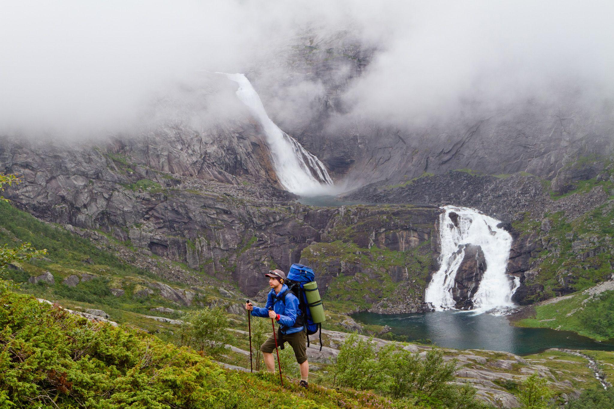 Норвегия_водоспади