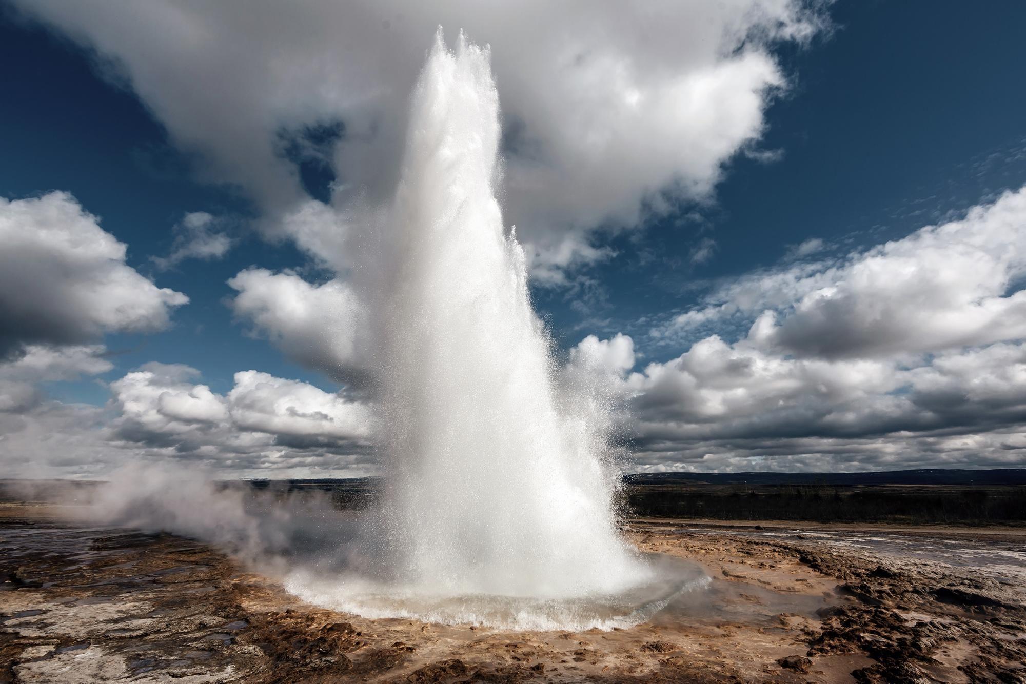 Исландия_гейзер