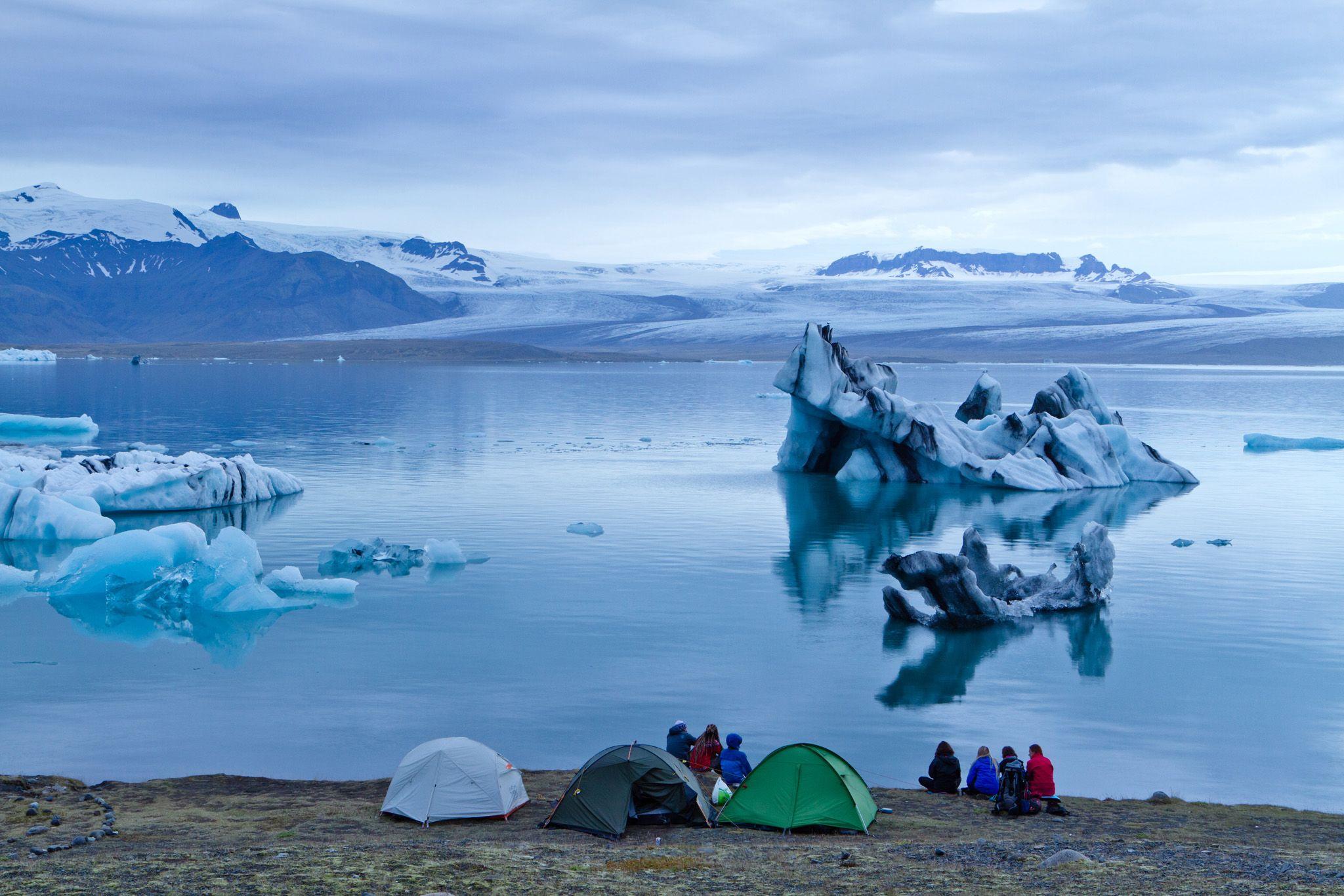 Исландия_Ледниковая лагуна