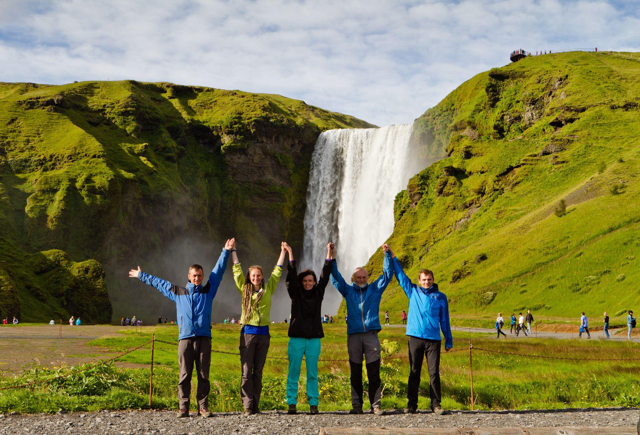 Исландия_водопады