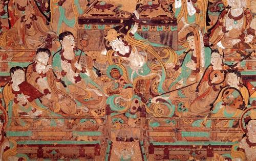 Буддіиські розписи 1