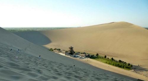 Дюни в пустелі Гобі