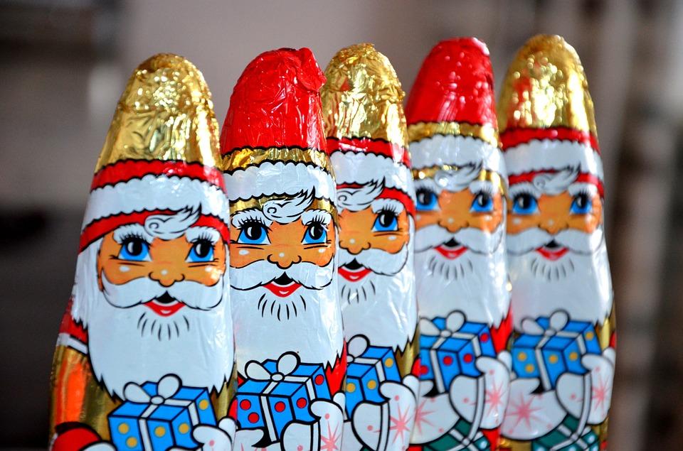 chocolate santa claus 490825 960 720