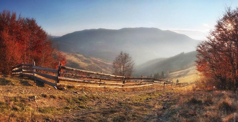фото карпати осінь