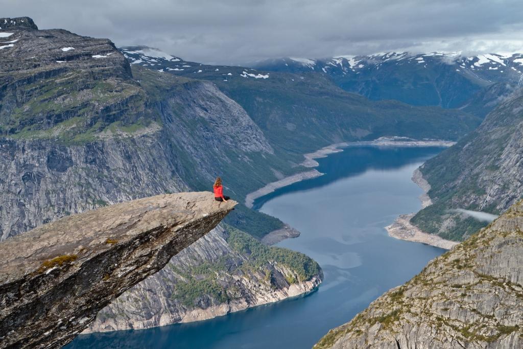 Норвегия_Язык Тролля