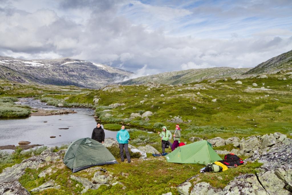 Норвегия_поход_палатки