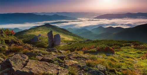 Гора Вухатый Камень (Ушастый Камень), фото Алёна Петренко