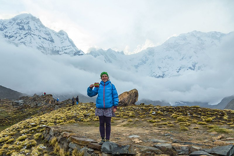Треккинг к базовому лагерю Аннапурны (Непал)