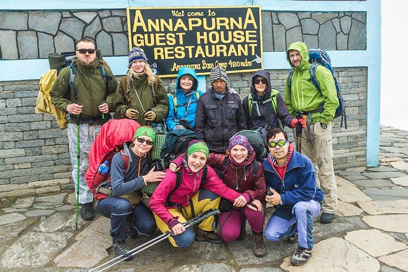 Погода на треку до базового табору Анапурни (Непал) у травні