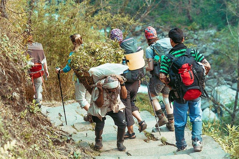 Трек до базового табору Анапурни (Непал)