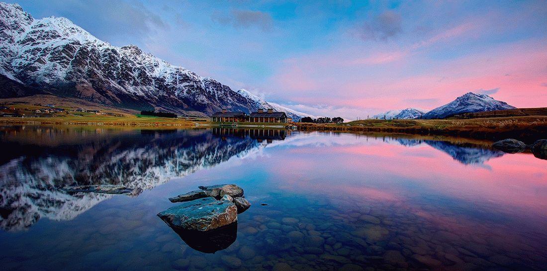 Новая Зеландия Image: Активный тур в Новую Зеландию: страна Властелина колец